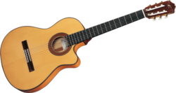 Guitare Cuenca 70-FCTW-THIN - Corps fin - Voir en grand