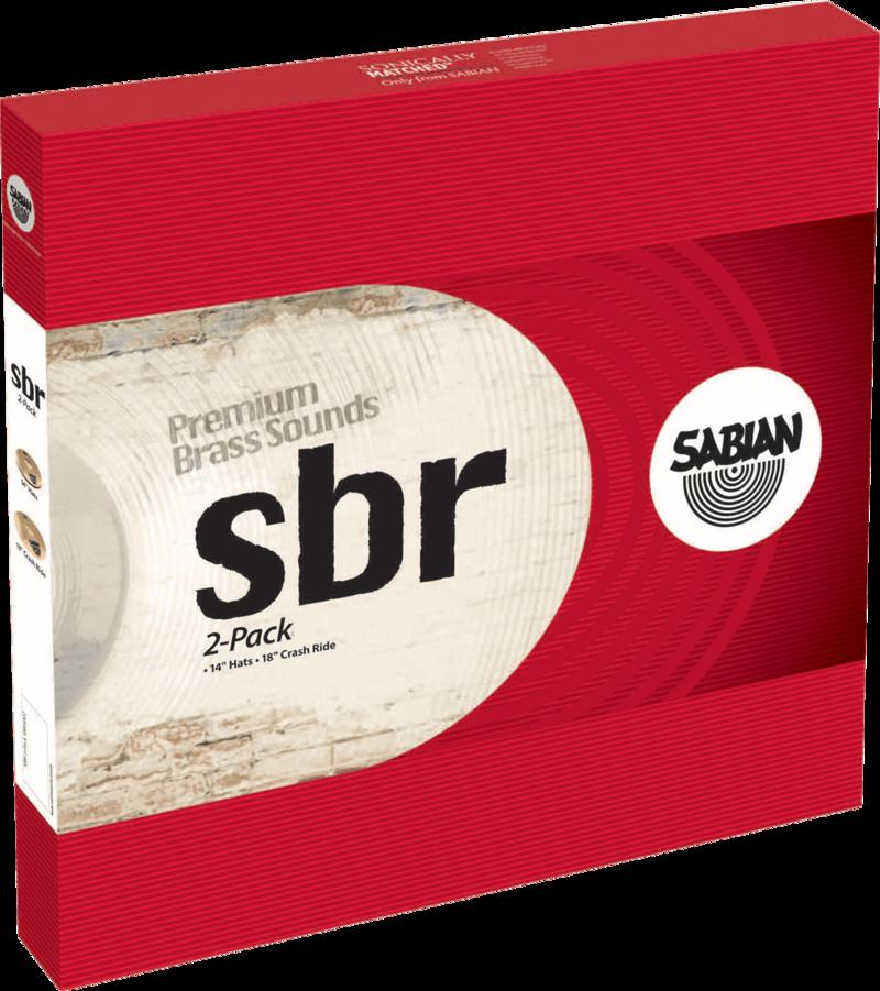 Pack Cymbales SBR SBR5002 - Voir en grand