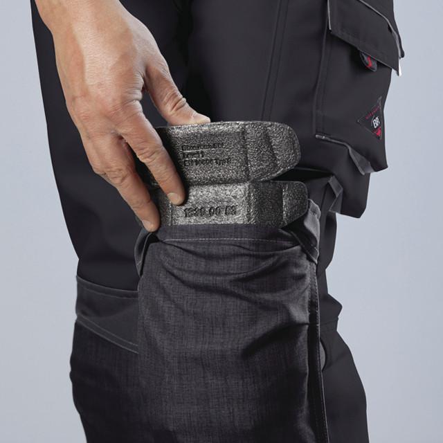 Pantalon de travail BP avec genouillères - Voir en grand