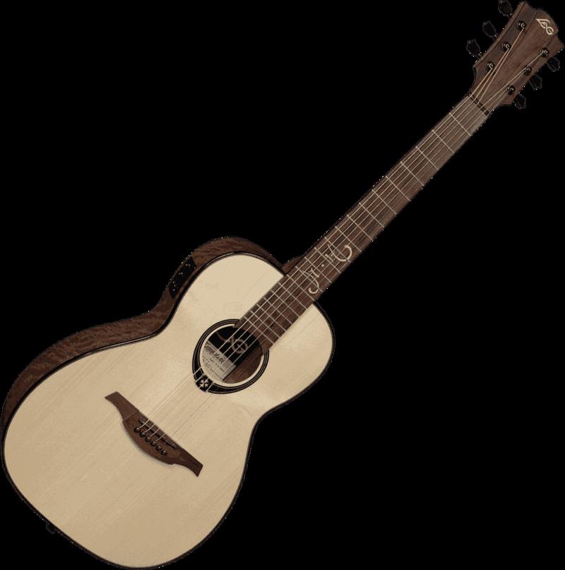 Guitare folk Lâg TS-MH-PE Signature Michel HAUMONT-2 - Voir en grand