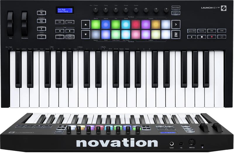Clavier maître Novation LAUNCHKEY-37-MK3. - Voir en grand