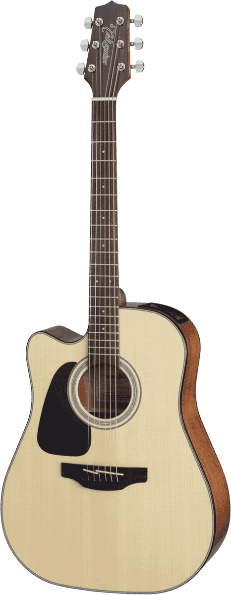 Guitare folk Takamine GD30CELH-NAT GAUCHER - Voir en grand