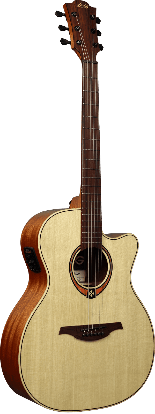 Guitare folk Lâg T88ACE - Voir en grand