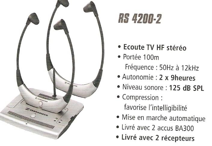 Systeme Decoute Tv Sans Fil à Ondes Radios Uhf Cevennes Audition