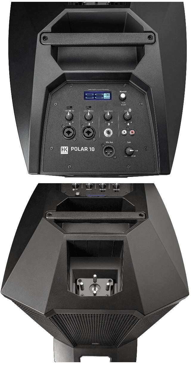 Enceintes HK Audio POLAR10-4. - Voir en grand