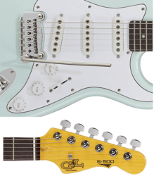 Guitare G&L Standard TS500-SBL-R.2
