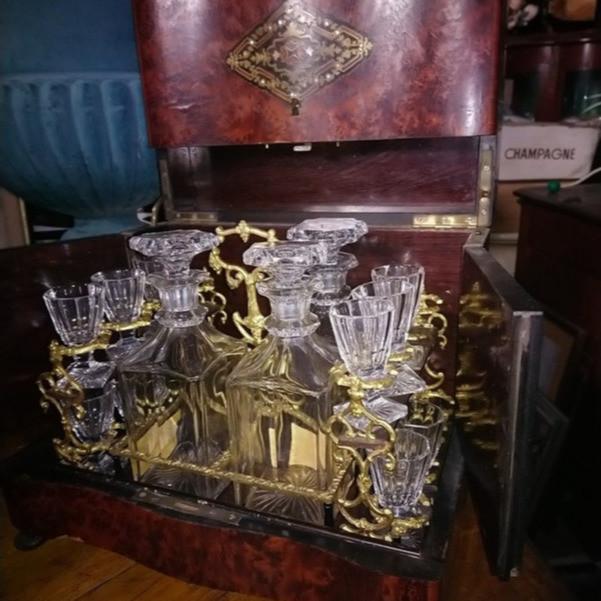 CAVE A LIQUEUR NAPOLEON III  -  - Forest Antiquités - Voir en grand