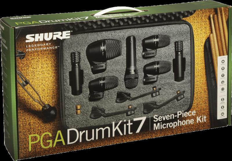 Micro filaire Shure Batterie PGADRUMKIT7 - Voir en grand