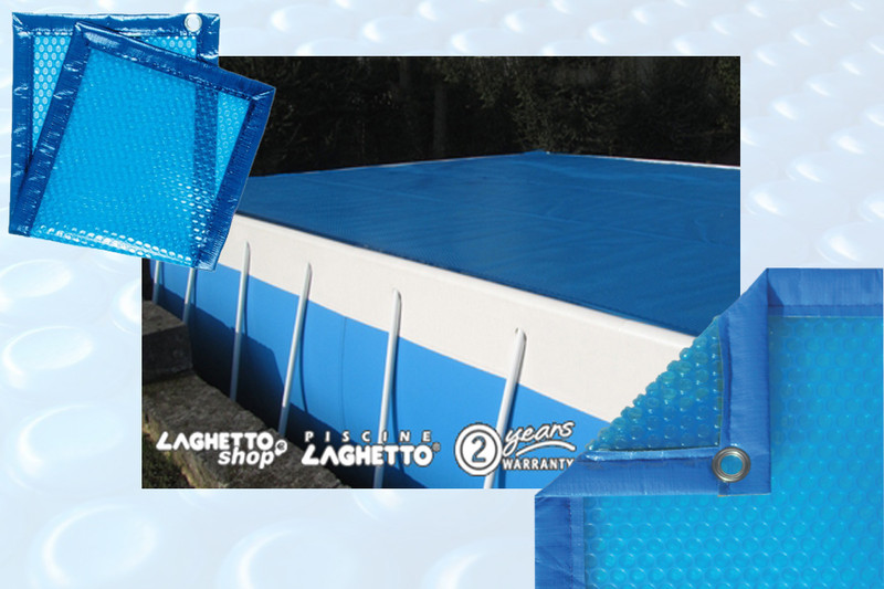 Bache hiver pour piscine laghetto for Accessoire piscine ales