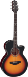 Guitare folk Takamine GF15CEBSB - Voir en grand
