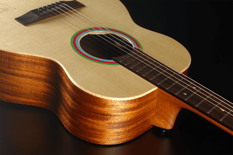 Guitare Lâg Travel Signature VIANNEY VIAN-001-9 - Voir en grand