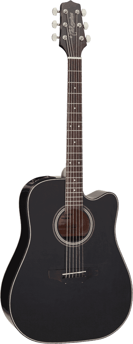 Guitare folk Takamine GD15CEBLK - Voir en grand