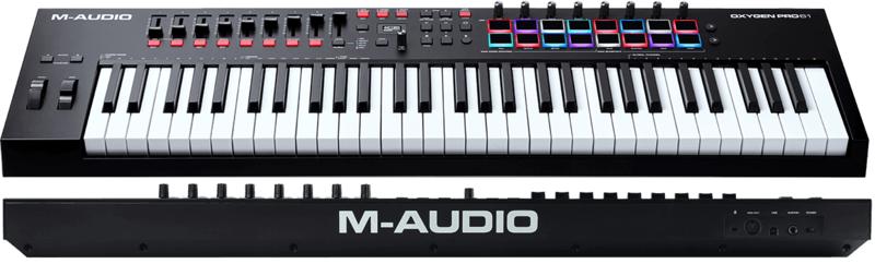 Clavier maître M-AUDIO OXYGENPROMINI-2. - Voir en grand