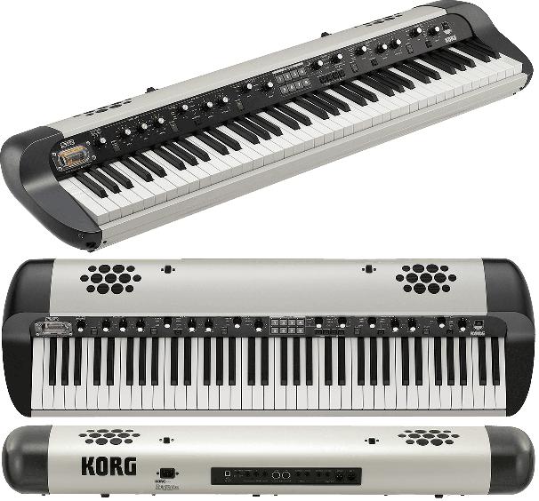 Piano numérique Korg SV2S-73 Vintage - Voir en grand