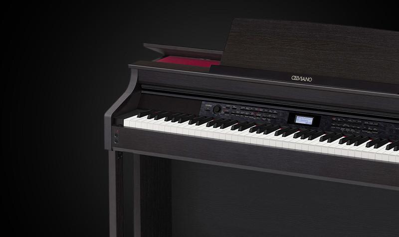 Piano numérique Casio AP-650 - Voir en grand