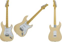 Guitare G&L Standard TS500-VWH-M.