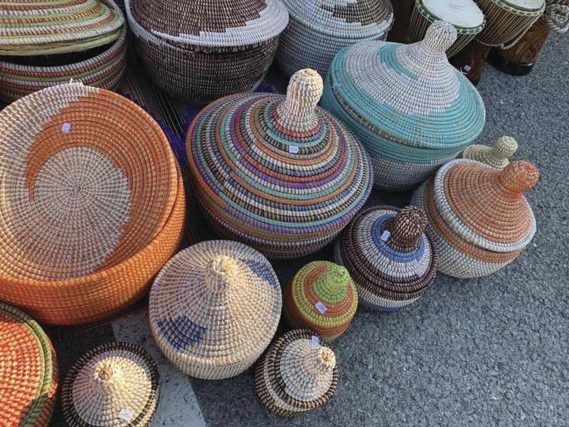 Paniers - Déco maison - TERANGA ART AFRICAIN - Voir en grand