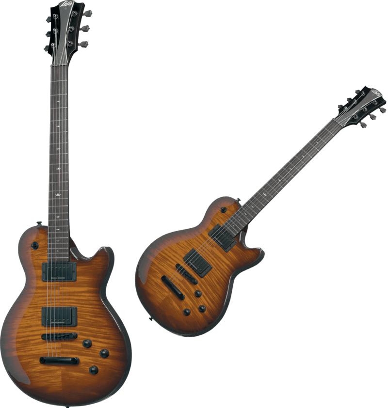 Guitare électrique I200-BRS. - Voir en grand
