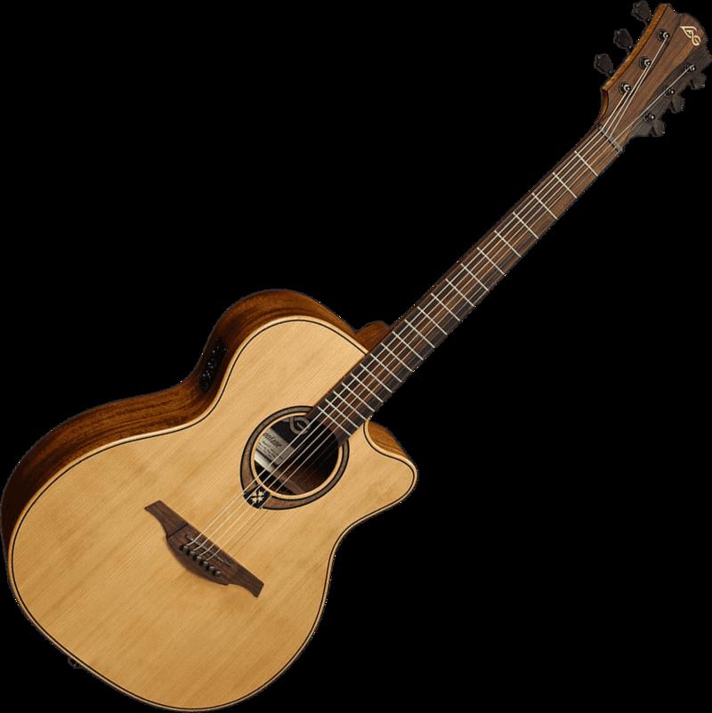 Guitare folk Lâg T170ACE - Voir en grand
