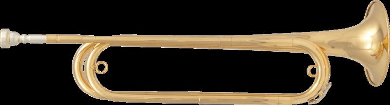 Trompette de Cavalerie SML Paris FTPC61 - Voir en grand