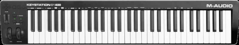 Clavier maître M-AUDIO KEYSTATION61MK3 - Voir en grand