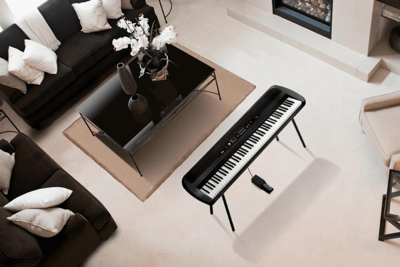 Piano numérique Korg SP280-BK-5 - Voir en grand