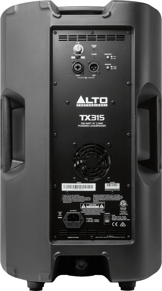 Enceinte Alto Pro TX315 - Voir en grand
