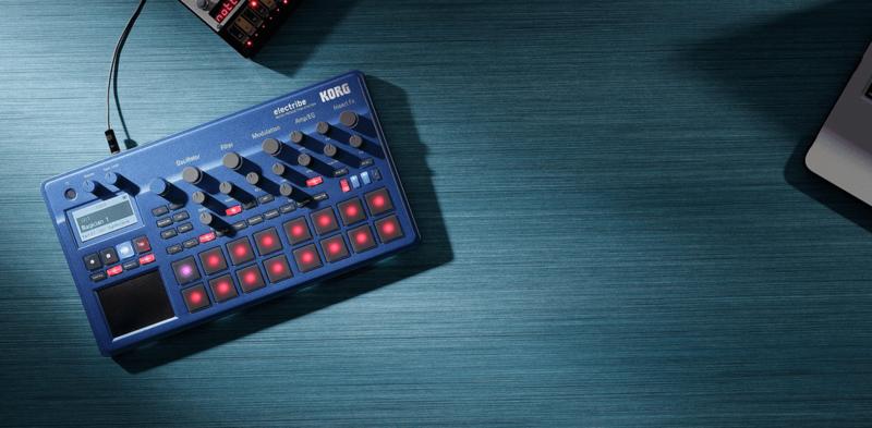 Electribe Korg Synthé & séquenceur ELECTRIBE2-BL-3 - Voir en grand
