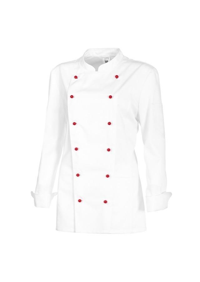 163244439583c Veste de cuisinier pâtissier femme - coton polyester - VETEMENTS DE ...