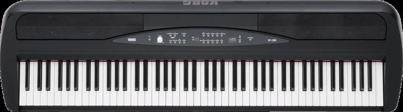 Piano numérique Korg SP280-BK - Voir en grand