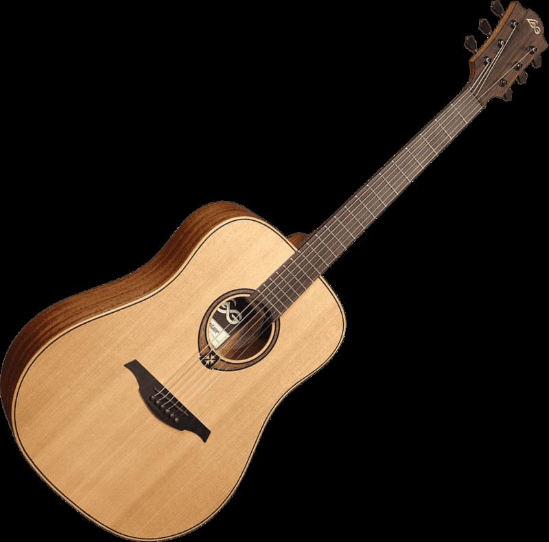 Guitare folk Lâg T170D - Voir en grand