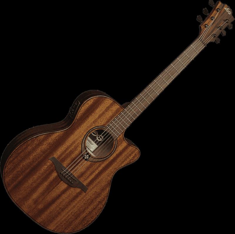 Guitare folk Lâg T98ACE - Voir en grand
