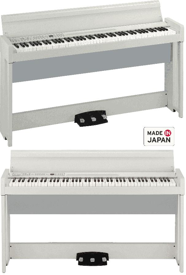 Piano Numérique Korg C1 Air-WH. - Voir en grand
