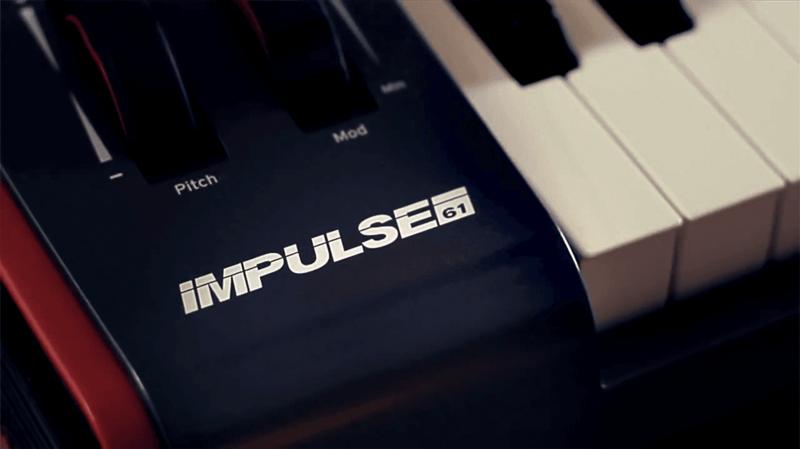 Clavier maître Novation IMPULSE-61-3 - Voir en grand