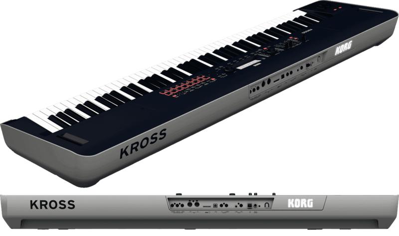Workstations Korg KOH KROSS2-88.-2 - Voir en grand