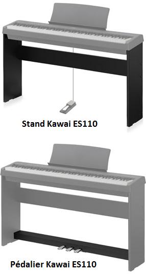 Stand & Pédalier Kawai ES110 - Voir en grand