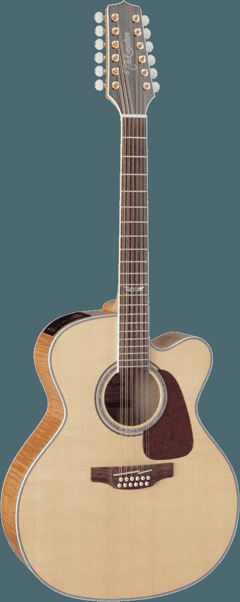 Guitare folk Takamine GJ72CE-12NAT - Voir en grand
