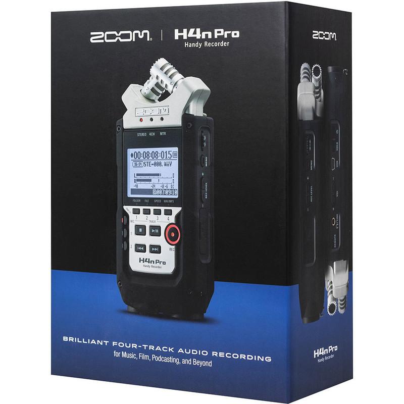 Enregistreur numérique ZOOM H4n Pro-7 - Voir en grand