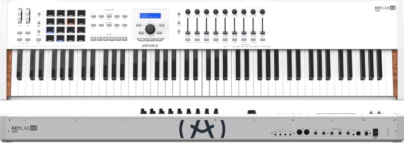 Clavier maître Arturia KEYLABMKII-88 Blanc. - Voir en grand