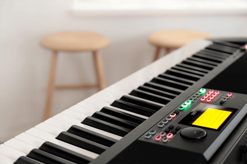 Piano numérique Korg XE20-5 - Voir en grand