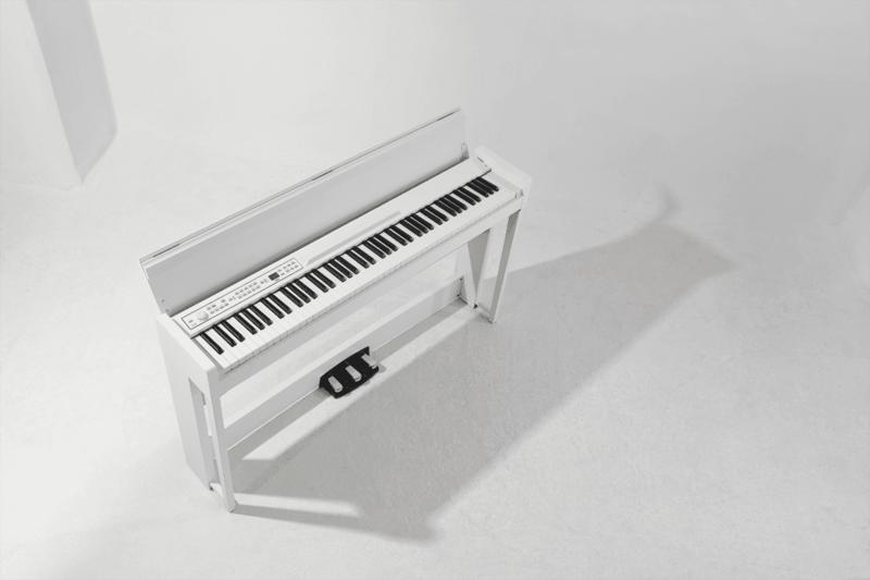 Piano Numérique Korg C1-Air-WH-3 - Voir en grand