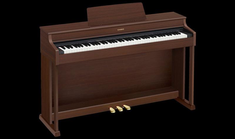 Piano numérique Casio AP-470 marron - Voir en grand