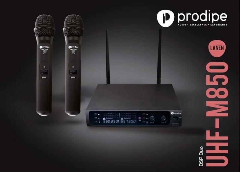 Micro Prodipe UHF M850 DSP Duo - Voir en grand