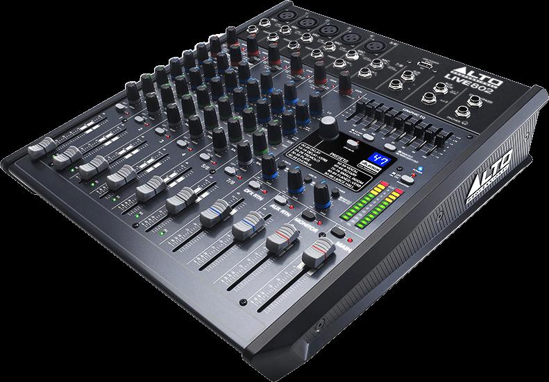 Table de mixage Alto LIVE802 - Voir en grand