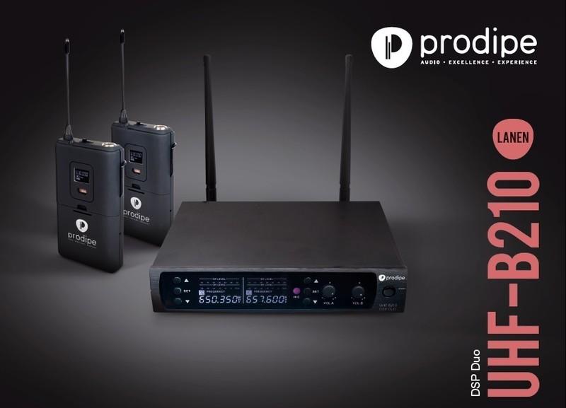 Micro Prodipe UHF B210 DSP Duo - Voir en grand