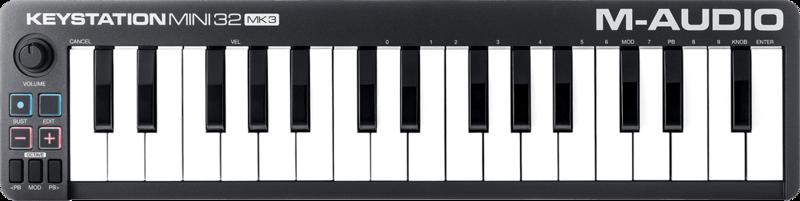 Clavier maître M-AUDIO KEYSTATIONMINI32MK3 - Voir en grand
