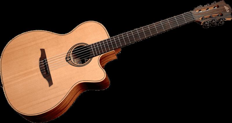 Guitare Lâg Tramontane Nylon 170 - Voir en grand