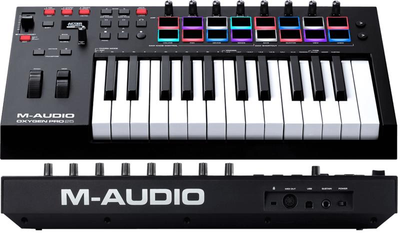 Clavier maître M-AUDIO OXYGENPRO25-2. - Voir en grand