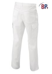 Pantalon médical poly/coton avec taille élastique réglable