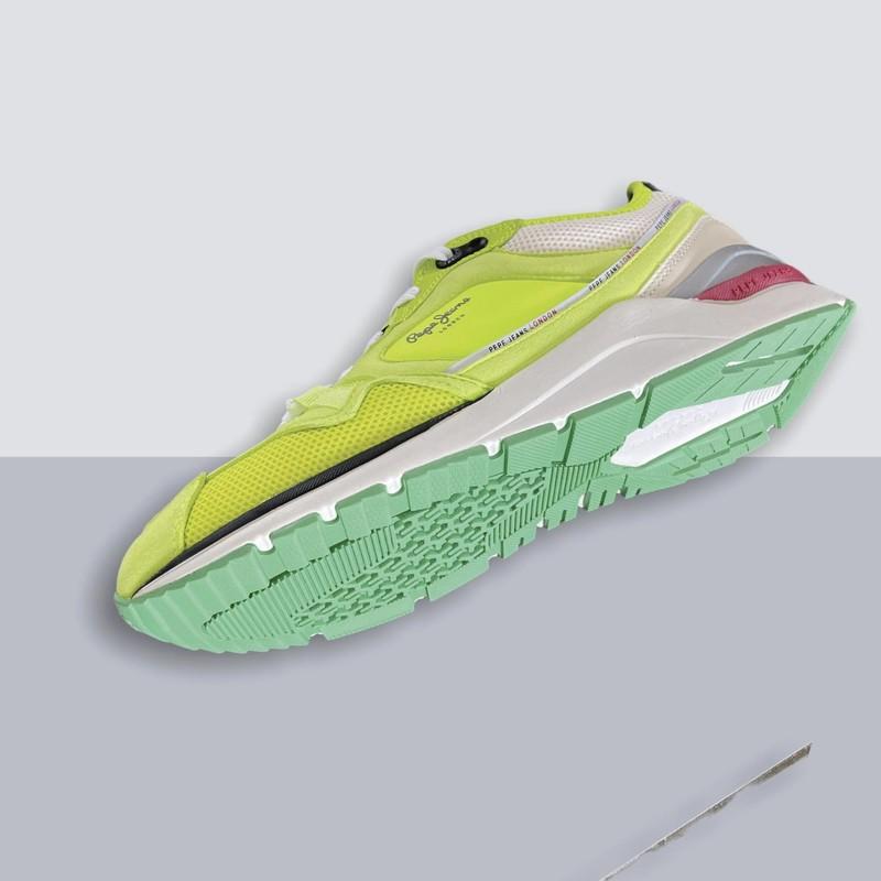 Baskets PEPE JEANS X20 Tech Neon PMS30747 - Voir en grand